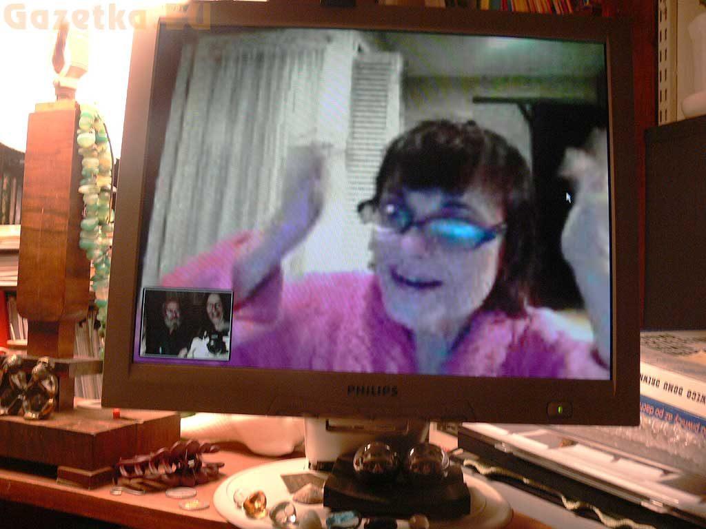 Styczeń 2009 - Spotkanie na Skype