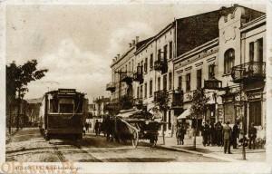 styczeń 1936 - rewers karty Czesława Rogalińskiego pisanej do Matki w Częstochowie