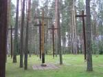 2000 Miednoje - krzyże na dołach śmierci