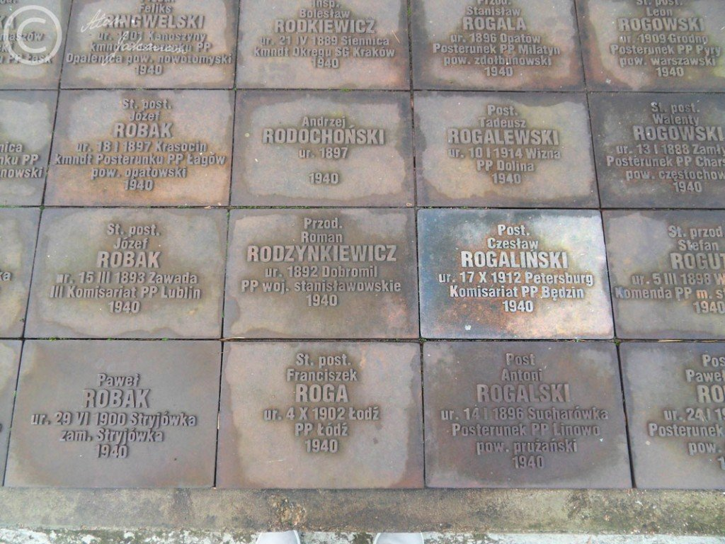 tabliczki w Miednoje