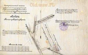 Posesja w Łodzi nr 380, należąca do Jana i Antoniny Rogalińskich od 1895