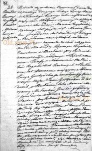 1843 - akt ślubu Ksawerego i Łucji