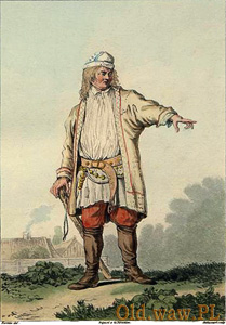 "Jean-Pierre Norblin - ""Parobek krakowski"", 1817"